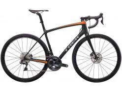 Vélo de course TREK Emonda SLR 7 Disc Noir mat Orange