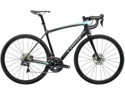 Vélo de course TREK Emonda SLR 7 Disc WSD Noir mat Vert