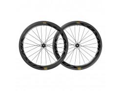 Paire de roues Route MAVIC Cosmic Pro Carbon SL UST Disc CL