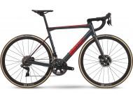 Vélo de course BMC Teammachine SLR01 Disc One Gris Rouge Carbon