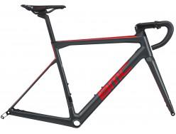 Cadre Course BMC Teammachine SLR01 Disc Gris Rouge Carbon