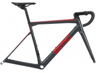 Cadre Course BMC Teammachine SLR01 Disc Gris Rouge Carbon