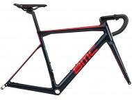 80c073e1b5c Vélo de course BMC Teammachine SLR03 One Rouge Noir Gris - Wareega