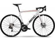 Vélo de course BMC Teammachine SLR02 Disc One Blanc Noir Rouge