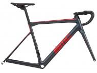 Cadre Course BMC Teammachine SLR01 Gris Rouge Carbon