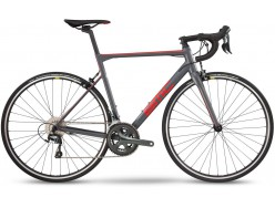 Vélo de course BMC Teammachine ALR01 Two Gris Rouge Noir