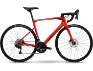 Vélo de course BMC Roadmachine RM02 Three Rouge Gris Noir