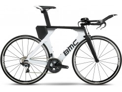 Vélo de contre la montre BMC Timemachine 02 Two Blanc Noir