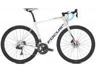 Vélo de course FOCUS Paralane 9.9 Di2 Blanc