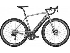 Vélo de route électrique FOCUS Paralane2 9.9 Di2 250wh Argent