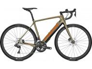 Vélo de route électrique FOCUS Paralane2 9.8 Di2 250wh Vert Orange