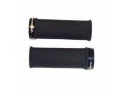 Grips VTT KOMPRESSOR Lock-on Noir 92mm
