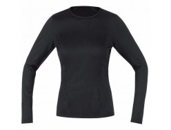 Sous maillot Femme GORE BIKE WEAR Thermo Base Layer Noir
