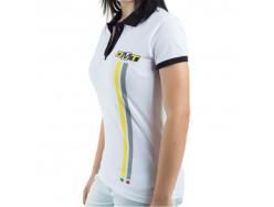 Polo Femme DMT Blanc