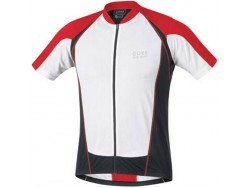 Maillot GORE BIKE WEAR Contest FZ Blanc Rouge Noir