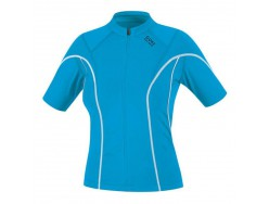 Maillot Femme GORE BIKE WEAR Countdown 2.0 Lady Bleu Blanc