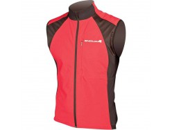 Gilet ENDURA Windchill Rouge