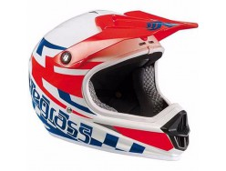 Casque BLUEGRASS Intox Racing Rouge