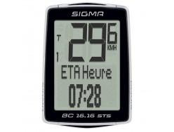 Compteur SIGMA BC 16.16 STS Noir sans fil 0