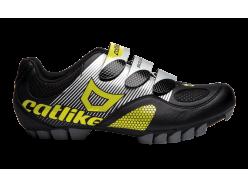 Chaussures VTT CATLIKE Drako VTT Noir Jaune fluo 0
