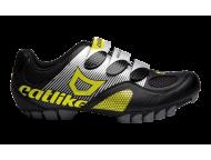 Chaussures VTT CATLIKE Drako VTT Noir Jaune fluo