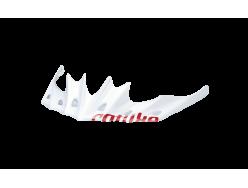 Visière de casque CATLIKE Whisper Blanc Rouge 0