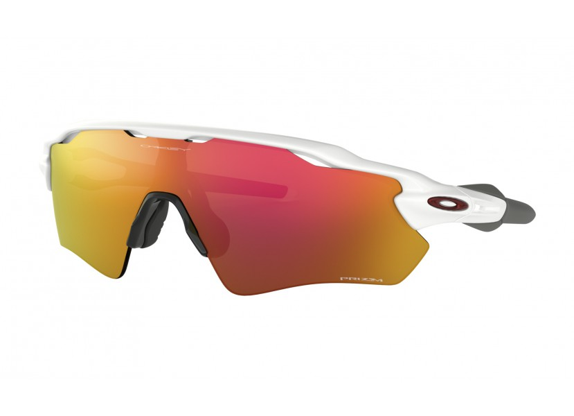 Lunettes OAKLEY Radar EV Path Team Colors Pol White - Prizm Ruby 0
