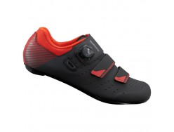 Chaussures Route SHIMANO RP400 Noir Orange Rouge 2019