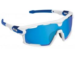 Lunettes Route AZR Pro Flash RX Blanc - Multicouche Bleu 0