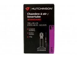 Chambre à air Route HUTCHINSON Standard 700x28/35 Schrader 32 mm 0