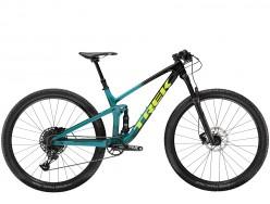 VTT TREK Top Fuel 9.7 NX Noir Bleu Jaune 2020