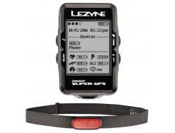 Compteur GPS LEZYNE Super Y10 HRSC Bundle - Cardio et Capteur