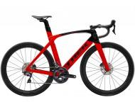 Vélo de course TREK Madone SL 6 Disc Rouge Noir