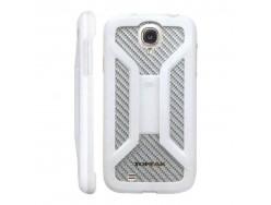 Housse de téléphone et GPS TOPEAK RideCase Blanche pour Samsung Galaxy S4