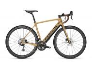 Vélo de route électrique Route FOCUS Paralane2 9.6 GC Beige