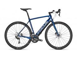Vélo de route électrique Route FOCUS Paralane2 9.7 Bleu