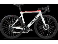 Vélo de course BMC Teammachine SLR01 Disc Three Force AXS HRD Blanc Rouge