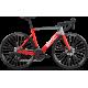 Vélo de course BMC Teammachine SLR02 Disc Four 105 Rouge Gris