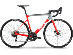 Vélo de course BMC Teammachine SLR02 Disc Four 105 Rouge Gris