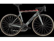 Vélo de course BMC Teammachine SLR01 One Dura Ace Di2 Gris Rouge