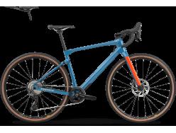 Vélo de cyclocross BMC UnReStricted Three GRX 800 mix Bleu Orange