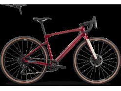 Vélo de cyclocross BMC UnReStricted Four Apex 1 Rouge