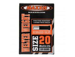 Chambre à air BMX MAXXIS Welter Weight 20x1.25 à 1.375 0.9mm Schrader 0