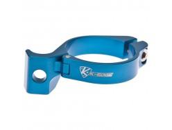 Collier de dérailleur K-EDGE 31.8mm Bleu