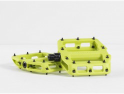 Pédales VTT BONTRAGER Line Elite Flat Volt Green