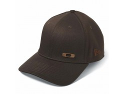 Casquette OAKLEY Metal Square O Marron