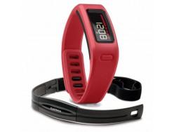 Bracelet connecté GARMIN Vivofit Rouge avec Capteur Cardiaque