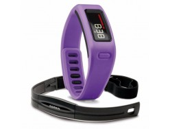 Bracelet connecté GARMIN Vivofit Violet avec Capteur Cardiaque