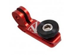 Fixation de caméra K-EDGE Big universel 1-4 20p Go Pro Rouge