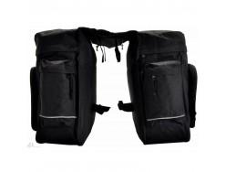 Sacoche arrière OXUS double arrière 2x14L – Fixation porte bagage